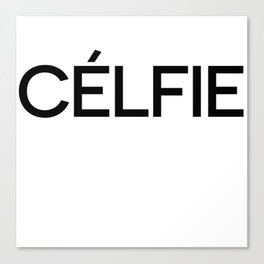 Celfie Canvas Print
