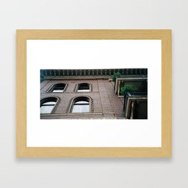 The Past is Present 2 Framed Art Print