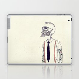 The Gentleman becomes a Hipster  Laptop & iPad Skin