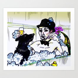 Neil Hannon Divine Comedy Bang Goes the Knighthood Art Print