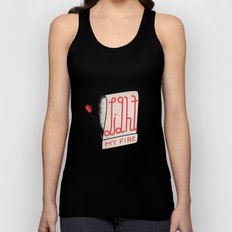 (Come On Baby) Light My Fire Unisex Tank Top