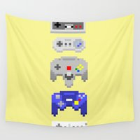 nintendo Wall Tapestries featuring Nintendo by 8BOMB