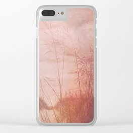 Love at the Beach Clear iPhone Case