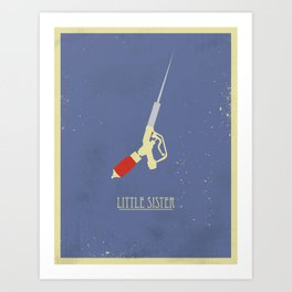 Little Sister Art Print