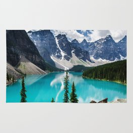 Lake Moraine Banff Rug