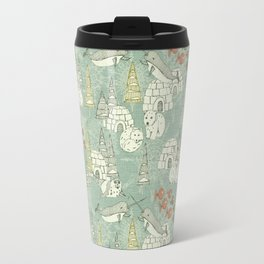 arctic retro Travel Mug