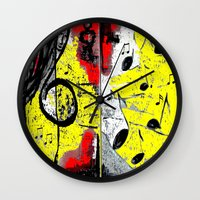 river song Wall Clocks featuring Song by sladja