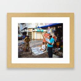 News in Mumbai Framed Art Print