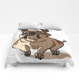 Leone the British bulldog Comforters