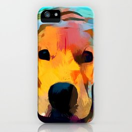 Golden Retriever 4 iPhone Case