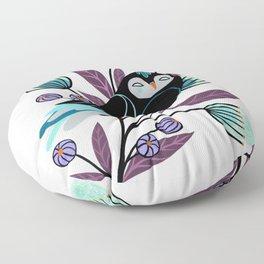 Branch and Bloom Floor Pillow