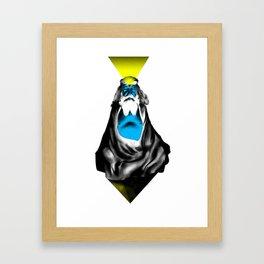 Idleness is Godliness Framed Art Print