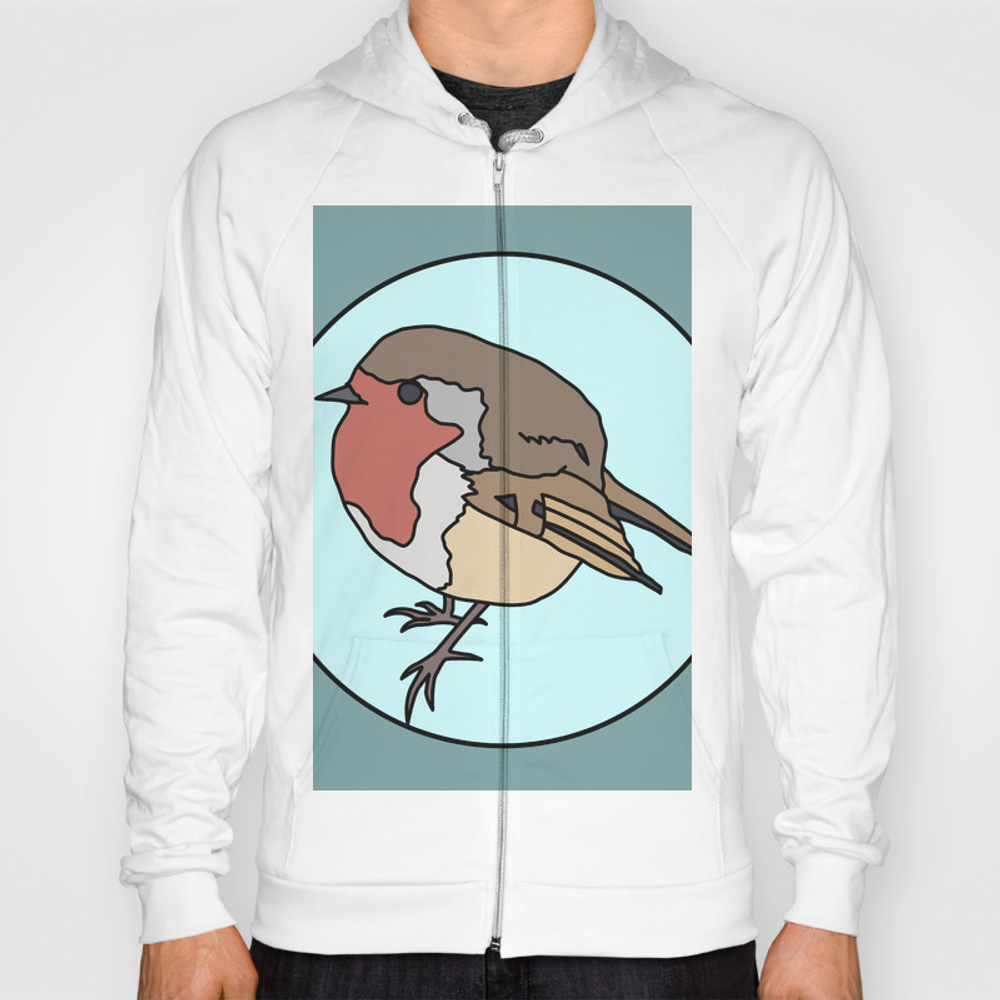 Robin - Robin Redbreast Sweatshirt by mothpathtags (SSR8909815) photo