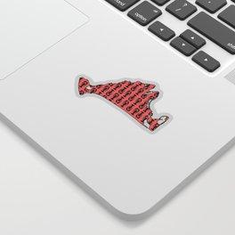 Marthas Vineyard - Nautical - Maritime - Island - Coastal - Lobster Sticker