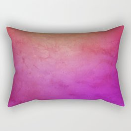 Watercolor BG Rectangular Pillow