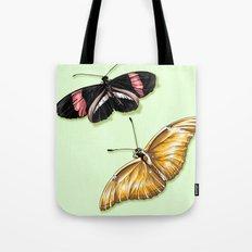 Papillon jaune Tote Bag