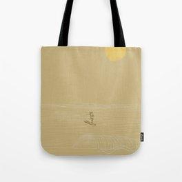 Waikiki Longboarder Tote Bag