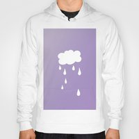 cloud Hoodies featuring Cloud by SueM