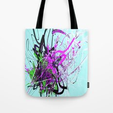 the guardian asleep, a meteor struck the garden room, dabloon collection orchid Tote Bag