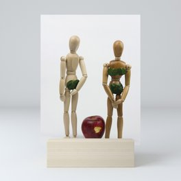 Adam and Eve Mini Art Print