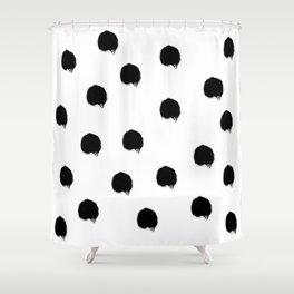Brush 01 Shower Curtain