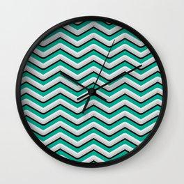 Metal bars Wall Clock