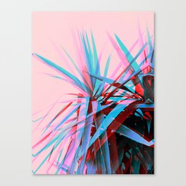 Duotone Palms Canvas Print