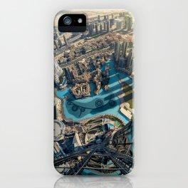 On top of the world, Burj Khalifa, Dubai, UAE iPhone Case