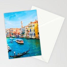 Italy. Venice lazy day Stationery Cards