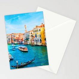 Italy. Venice lazy day Stationery Cards