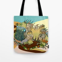 dune Tote Bags featuring Dune by Maria Paula Quiva