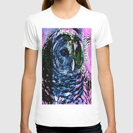 Rainbow Barred Owl T-shirt