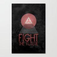 illuminati Canvas Prints featuring Illuminati by Ed Burczyk