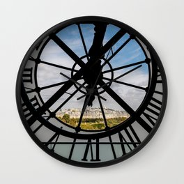 Giant glass clock at the Musée d'Orsay - Paris Wall Clock