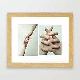 Dependency  Framed Art Print