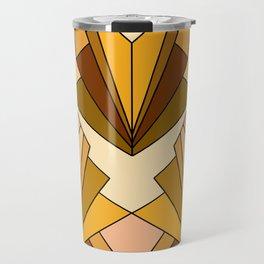Art Deco meets the 70s - Large Scale Travel Mug