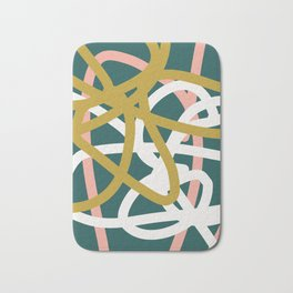 Abstract Lines 02B Bath Mat