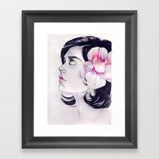 What's a Girl to Do Framed Art Print