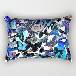Borboletas Azuis  Rectangular Pillow
