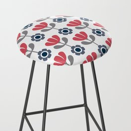 Simple flowers Bar Stool