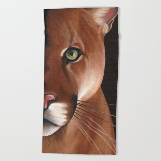 Puma Beach Towel