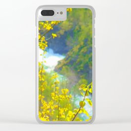 Norwegian Spring Clear iPhone Case