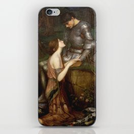 John William Waterhouse - Lamia iPhone Skin