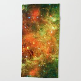 Star Cluster Beach Towel