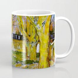 Avenue of Plane Trees near Arles Station, Vincent van Gogh Coffee Mug