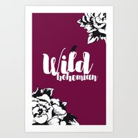Wild Bohemian Art Print