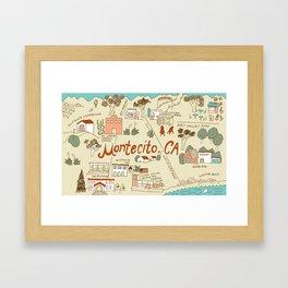 Montecito Framed Art Print