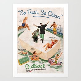 So fresh so clean Art Print