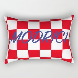 Lukas Modric number one Rectangular Pillow