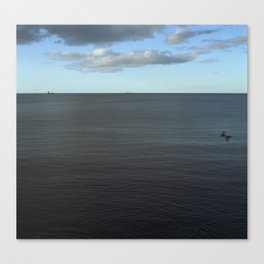 Afternoon Seascape Canvas Print
